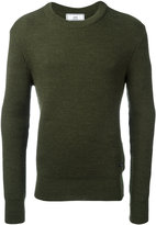 Ami Alexandre Mattiussi fisherman rib crew neck sweater - men - Virgin Wool - S