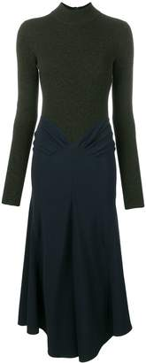 Victoria Beckham draped dress
