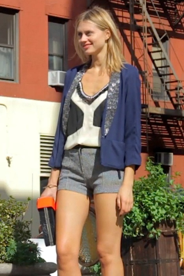 Pinkyotto Fall in the City Shorts