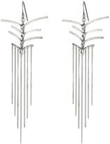 Chan Luu Sterling Silver Earrings Drop Threads Earring