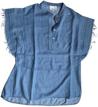 3.1 Phillip Lim Blue Denim - Jeans Top for Women