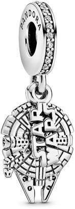 Disney Millennium Falcon Charm by Pandora Jewelry Star Wars