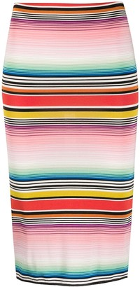 Missoni Mare Stripe Fitted Skirt