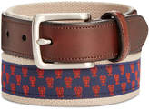 Club Room Men's Lobster Webbing Belt, Created for Macy's