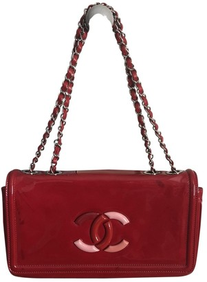 Chanel Red Patent leather Handbags