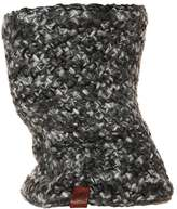 Buff Knitted & Polar Scarf Margo Grey