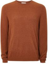 Topman Rust Cashmere Sweater
