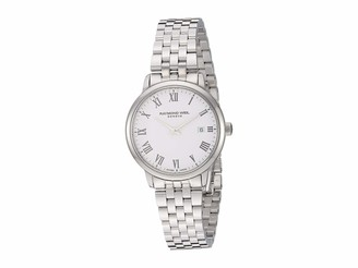 Raymond Weil Women's Toccata Swiss Quartz Stainless Steel Strap Silver 12.7 Casual Watch (Model: 5985-ST-00300)
