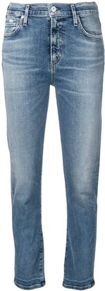 Citizens of Humanity Slim Faded Jeans