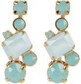 Sorrelli Classic Crystal Geo Drop Earrings