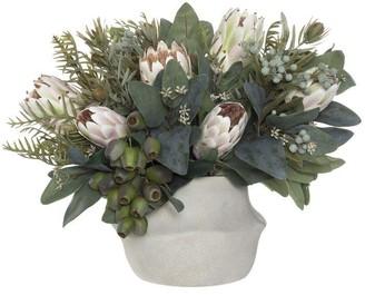 Albi Imports Native Protea Mix Soft Pink 38cmh