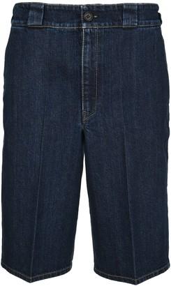 Prada Denim Bermuda Shorts