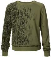 Haider Ackermann animal print sweatshirt