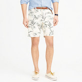 "J.Crew 9"" Short In Large Frond"