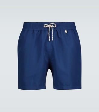 Loro Piana Bay Soft Albatros swim shorts