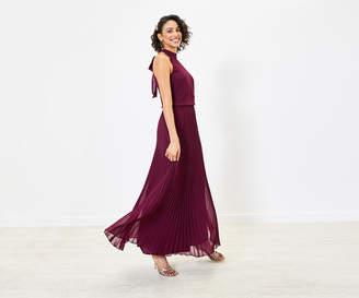 Oasis Pleated Bridesmaid Dress
