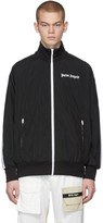 Palm Angels Black Over Logo Track Jacket