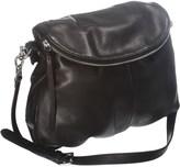 Margot Flap Zip Handbag - Leather (For Women)