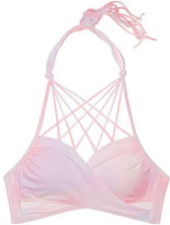 PINK Knotted Back Body Wrap