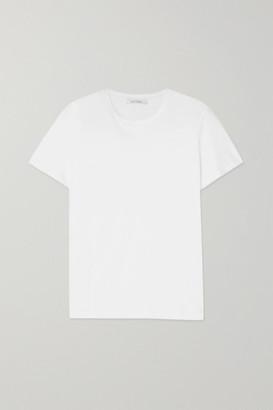 Ninety Percent Net Sustain Jenna Organic Cotton-jersey T-shirt - White