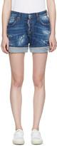 DSQUARED2 Blue Kawaii Shorts