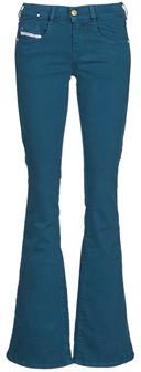Diesel EBBEY women's Bootcut Jeans in Blue