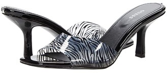 GUESS Norma (Black Multi Synthetic) Women's Sandals