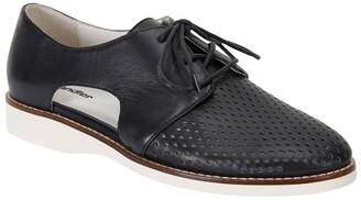 Sandler Sharon Black Glove Flat Shoes Black