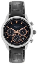 Rotary Gents Stainless Steel Chronograph Strap Watch Gs02876/04
