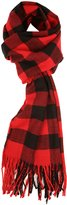 Love Lakeside-Women's Cashmere Feel Winter Plaid Scarf