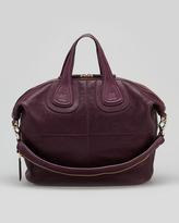 Givenchy Nightingale Zanzi Medium Satchel Bag, Purple