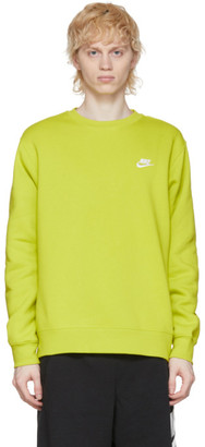 Nike Green Sportswear Club Sweatshirt