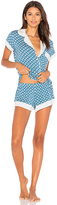 Eberjey Noche De Luna Short Pj Set in Blue