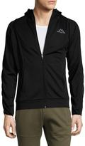 Kappa Hooded Stand Collar Jacket