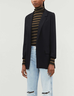 AllSaints Aleida single-breasted woven jacket