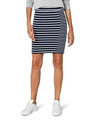 Tommy Jeans Women's Stripe Mix Pencil Skirt,Small