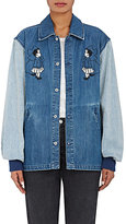 Opening Ceremony Women's Embroidered Denim Jacket