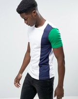 Benetton T-Shirt In Color Block