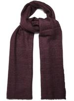 Denis Colomb Annapurna frayed-edge cashmere scarf