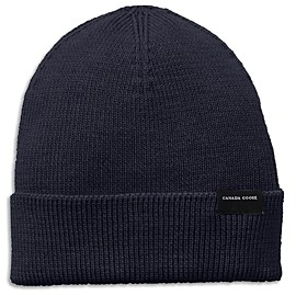 Canada Goose Fitted Merino Wool Beanie