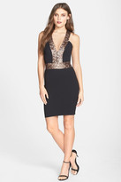 Dress the Population Rylee Plunging Bodycon Dress