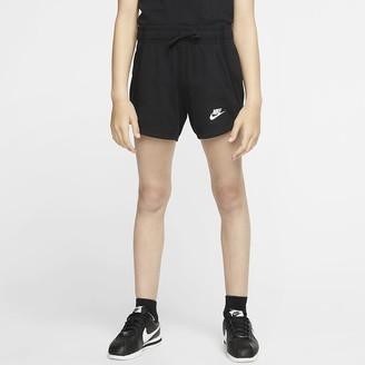 Nike Big Kids' (Girls') Jersey Shorts Sportswear