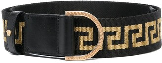 Versace Greca ribbon belt