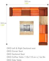 Mamagreen Oko Sectional Lounge Configuration C