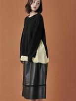 Full Length Leather Skirt - ShopStyle