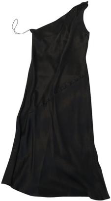 Ralph Lauren Purple Label Black Silk Dresses