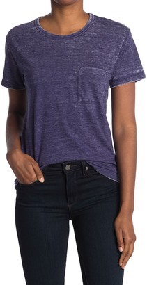 J.Crew Burnout Pocket Crew Neck T-Shirt