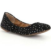 Lucky Brand Emmie Metallic Dot Ballet Flats