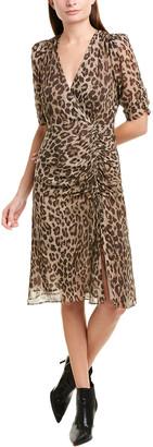 Nicholas Tea Silk Midi Dress