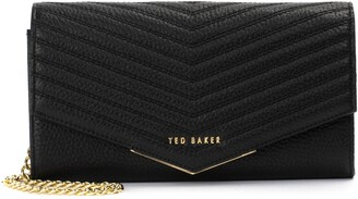 Ted Baker Laiiney Quilted Wallet on a Chain